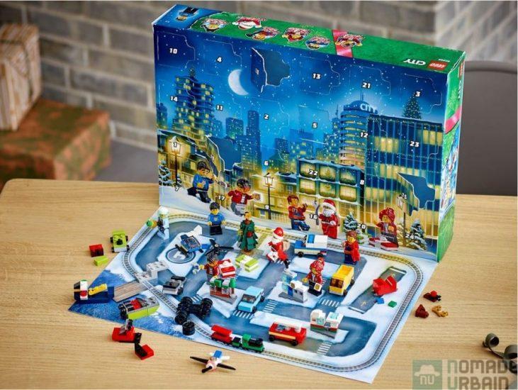 Calendrier de l'Avent Lego City, l'aventure de Noël !