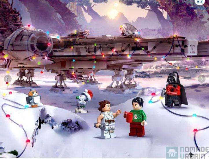 Calendrier de l'Avent Lego Star Wars, Dark Vador en pull de Noël moche !