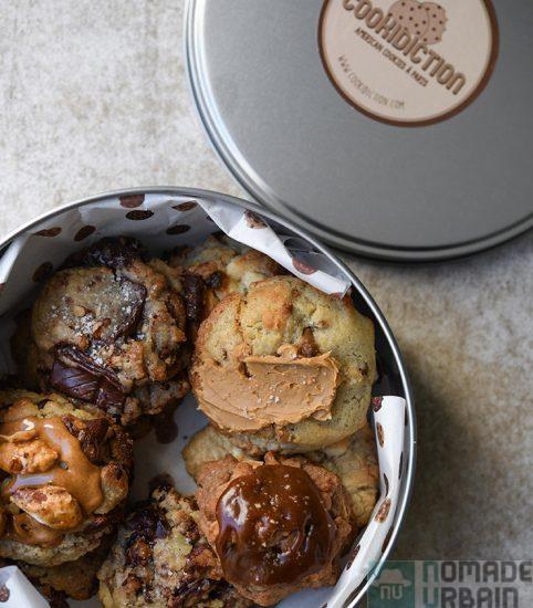 Cookidiction, le cookie tellement gourmand, qu'il en devient onirique