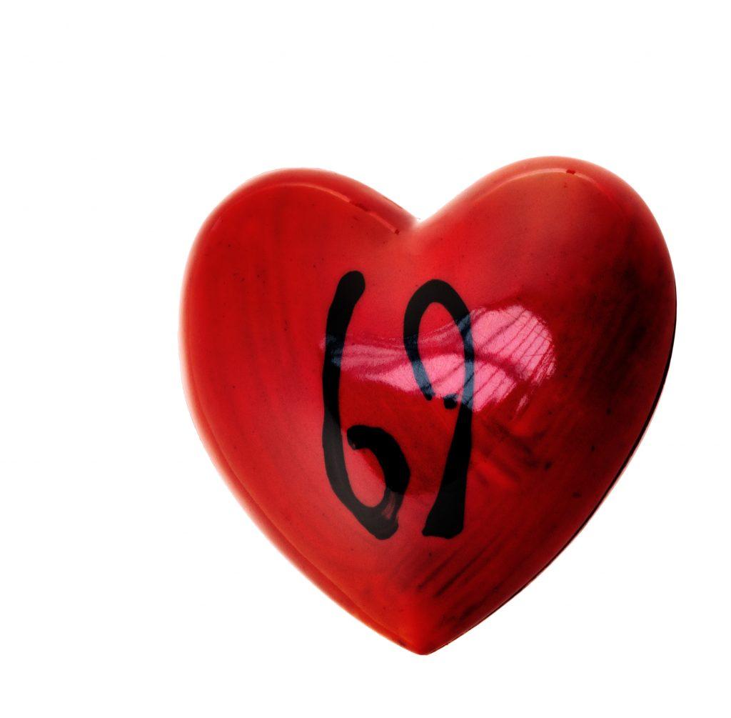 Cœur 69 érotique la Saint-Valentin de Patrick Roger