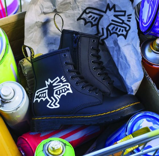 Dr. Martens x Keith Haring, le street-art qui colle aux basques