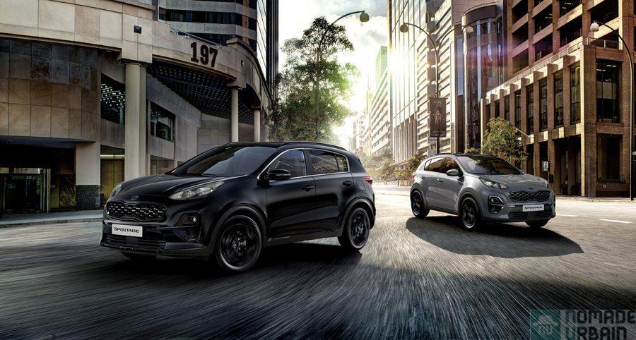 Kia Sportage Black Edition,  le côté obscur de la beauté automobile !