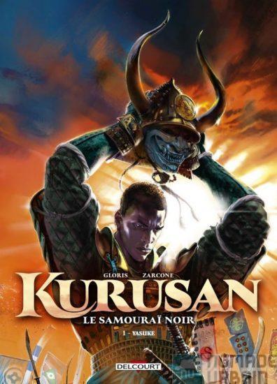 BD Kurusan Le Samouraï Noir T01, l'honneur africain suit la voie du Bushido