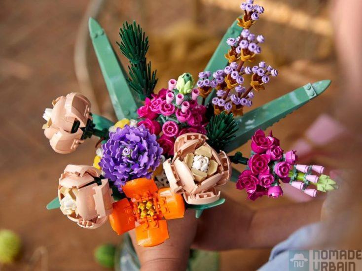 Offrez un bouquet presque éternel de Lego Fleurs pour la Saint-Valentin